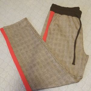 Pants - Never worn black,  white,  and red pants